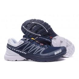 Salomon S-LAB Sense Speed Trail Running In Deep Blue Shoe For Men