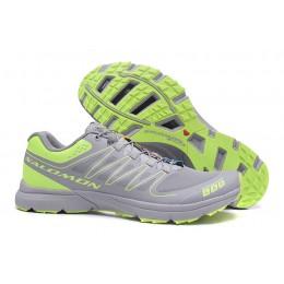 Salomon S-LAB Sense Speed Trail Running In Gray Green Shoe For Men