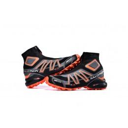 Salomon Snowcross CS Trail Running In Black Orange Shoe For Men