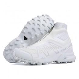 Salomon Snowcross CS Trail Running In White Shoe For Men