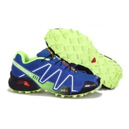 Salomon Speedcross 3 CS Trail Running In Blue Shoe For Men