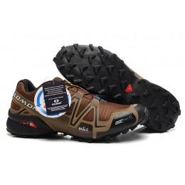 Salomon Speedcross 3 CS Trail Running In Brown Shoe For Men