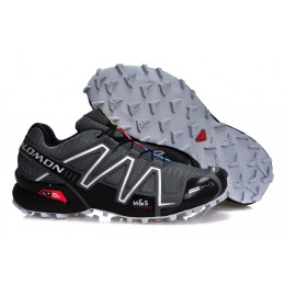 Salomon Speedcross 3 CS Trail Running In Deep Gray Shoe For Men