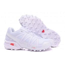 Salomon Speedcross 3 CS Trail Running In Full White Shoe For Men