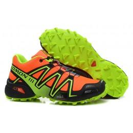 Salomon Speedcross 3 CS Trail Running In Orange Shoe For Men