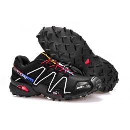 Salomon Speedcross 3 CS Trail Running In Silver Black Shoe For Men