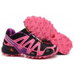 Salomon Speedcross 3 CS Trail Running In Black Pink Shoe For Women