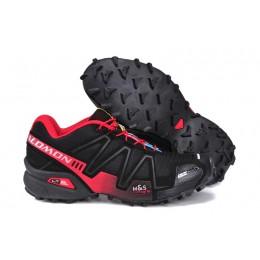 Salomon Speedcross 3 CS Trail Running In Black Red Shoe For Women