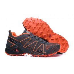 Salomon Speedcross 3 Adventure In Black Orange Shoe For Men