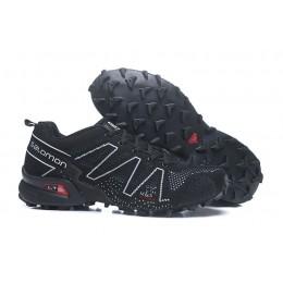 Salomon Speedcross 3 Adventure In Black White Shoe For Men