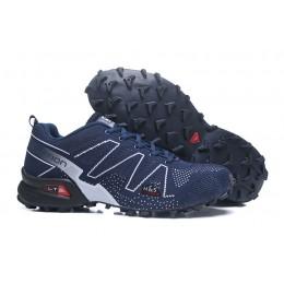 Salomon Speedcross 3 Adventure In Blue White Shoe For Men