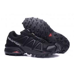 Salomon Speedcross 4 Trail Running In Black Shoe For Men