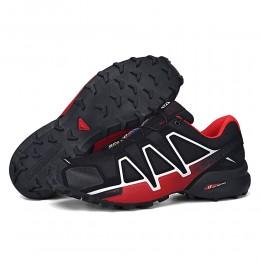 Salomon Speedcross 4 Trail Running In Black Red Shoe For Men