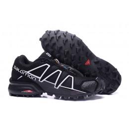 Salomon Speedcross 4 Trail Running In Black White Shoe For Men