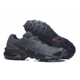 Salomon Speedcross 4 Trail Running In Deep Gray Shoe For Men
