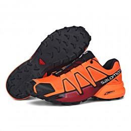 Salomon Speedcross 4 Trail Running In Orange Shoe For Men