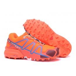 Salomon Speedcross 4 Trail Running In Orange Wine Shoe For Women