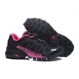 Salomon Speedcross Pro 2 Trail Running In Black Rose Red Shoe For Women