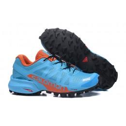 Salomon Speedcross Pro 2 Trail Running In Lack Blue Orange Shoe For Women