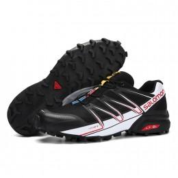 Salomon Speedcross Pro Contagrip In Black White Shoe For Men